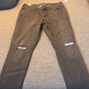 Gray skinny jeans 👖